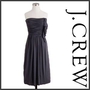 J. Crew Cascading Ruffle Dress